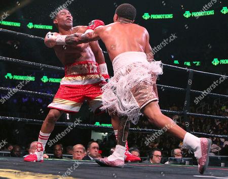 Editorial picture of Gamboa Davis Boxing, Atlanta, USA - 29 Dec 2019