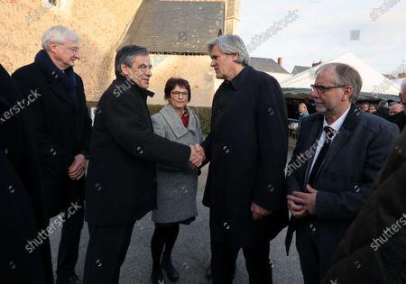 Francois Fillon and Stephane Le Foll