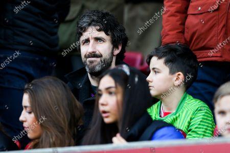 Stock Image of Comedian and Bristol City fan Mark Watson