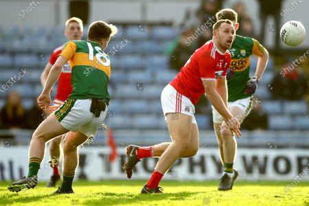 Kerry vs Cork. Cork's Ciaran Sheehan