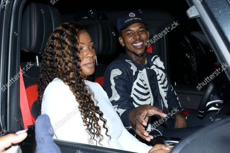Editorial image of Keonna Green out and about, Los Angeles, USA - 28 Dec 2019
