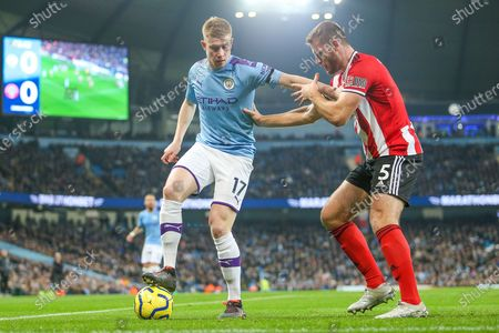 Editorial photo of Manchester City v Sheffield United, Premier League - 29 Dec 2019