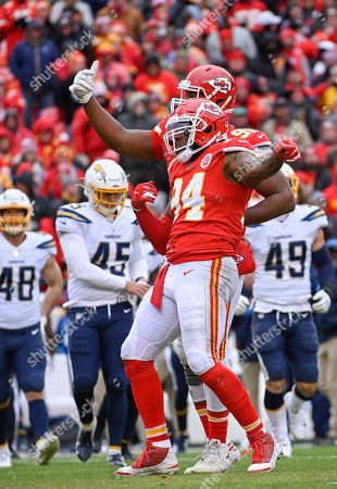Editorial picture of Chargers Chiefs Football, Kansas City, USA - 29 Dec 2019