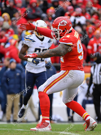 Editorial image of Chargers Chiefs Football, Kansas City, USA - 29 Dec 2019