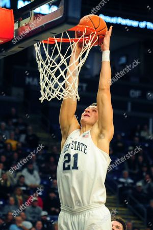 Editorial photo of Cornell Penn St Basketball, State College, USA - 29 Dec 2019