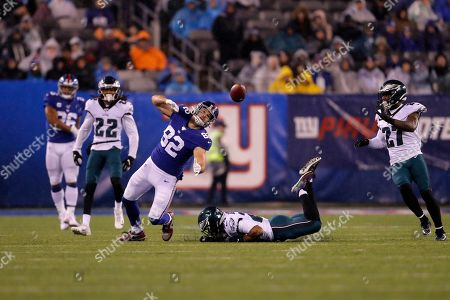 Editorial picture of Eagles Giants Football, East Rutherford, USA - 29 Dec 2019