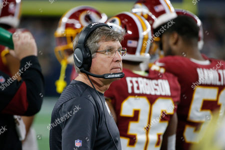 Washington Redskins head coach Bill Callahan during the second half of an NFL football game against the Dallas Cowboys in Arlington, Texas