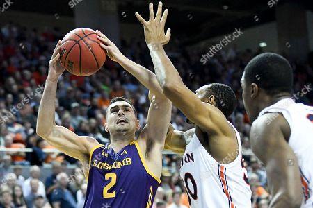 Editorial image of Lipscomb Basketball, Auburn, USA - 29 Dec 2019