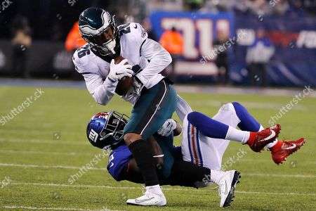 Editorial image of Eagles Giants Football, East Rutherford, USA - 29 Dec 2019