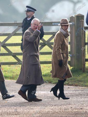 Prince Charles and Princess Anne