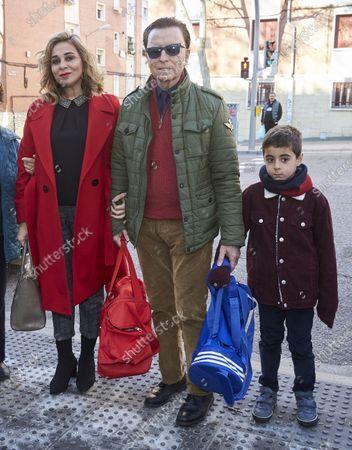 Jose Ortega Cano and Maria Aldon E Hijo