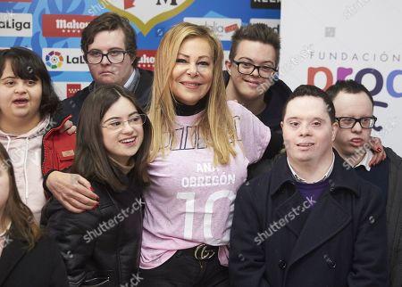 Editorial photo of Prodis Foundation charity football event, Madrid, Spain - 29 Dec 2019