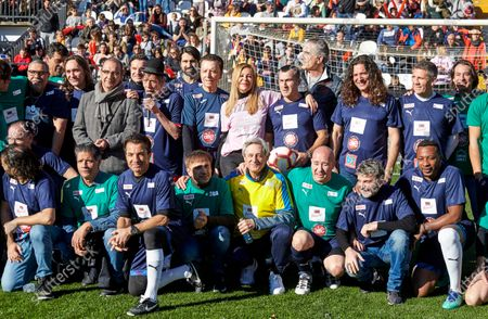 Editorial photo of Prodis Foundation charity football event, Madrid, Spain - 29 Dec 2019