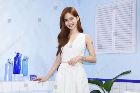 Joanne Tseng promotes hair care products