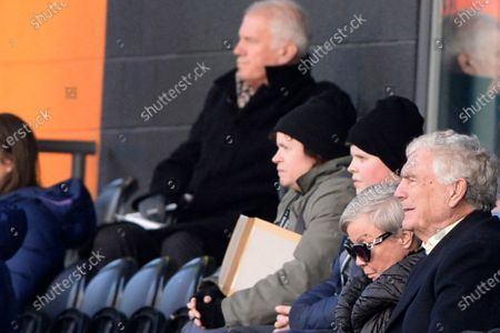 Sir Trevor Brooking during the Barclays WomenÕs Super League match between Tottenham Hotspur Women and West Ham United Women at The Hive Stadium in London, UK - 12th January 2020