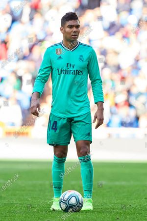Editorial photo of Real Madrid v Espanyol, La Liga, Football, Santiago Bernabeu stadium, Madrid, Spain - 07 Dec 2019