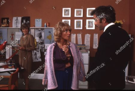Stock Picture of Dinah Sheridan as Gwen, Julia Foster as Ruth and Michael Latimer as Dr. Bradley