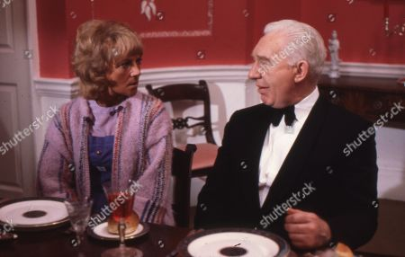 Julia Foster as Ruth Cairns and Kevin Stoney as Rothwell