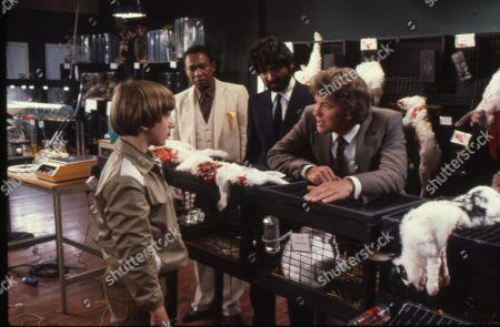 Matthew Blakstad as James, Norman Beaton as Mr. Ngenko, Tariq Yunus as Charles Austin and Gary Bond as Terence Morton