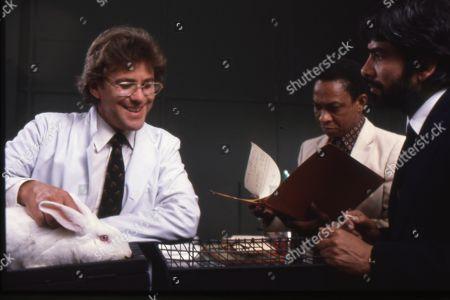 Gary Bond as Terence Morton, Norman Beaton as Mr. Ngenko and Tariq Yunus as Charles Austin
