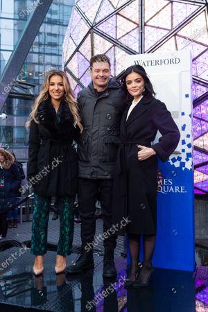 Jessie James Decker, Ryan Seacrest and Lucy Hale