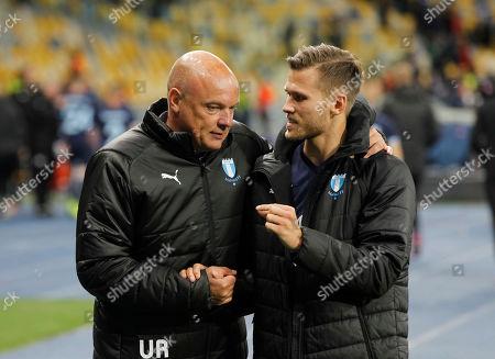 Editorial photo of Malmo FF v Dynamo Kyiv, UEFA Europa League, Group B, Football, NSC Olimpiyskiy stadium, Kiev, Ukraine - 19 Sep 2019