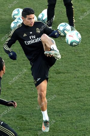 Editorial picture of Real Madrid's players return to training session, Spain - 30 Dec 2019