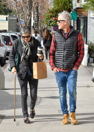 Editorial picture of Selma Blair and David Lyons out and about, Los Angeles, USA - 30 Dec 2019