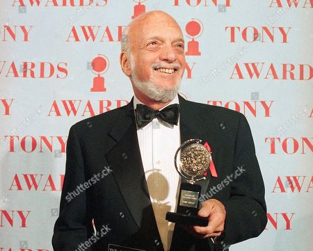 """Hal Prince, Harold Prince. Harold Prince holds his award for best director in a musical for """"Show Boat"""" at the Tony Awards in New York on . Prince, who pushed the boundaries of musical theater and won a staggering 21 Tony Awards, died on July 31, after a brief illness. He was 91"""