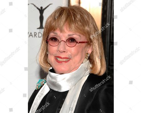 """Actress Phyllis Newman arrives at the 63rd Annual Tony Awards in New York on . Newman, a Tony Award-winning Broadway veteran who became the first woman to host """"The Tonight Show"""" died on Sept. 15 at age 86"""