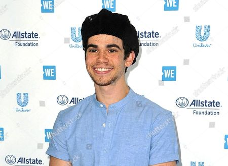 Cameron Boyce appears at WE Day California in Inglewood, Calif., on . Boyce died unexpectedly from epilepsy on July 6. He was 20