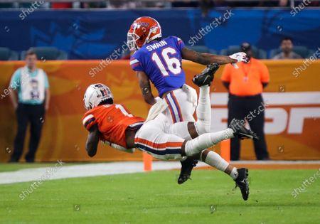 Editorial image of NCAA Football Capital One Orange Bowl - Florida vs Virginia, Miami Gardens, USA - 30 Dec 2019