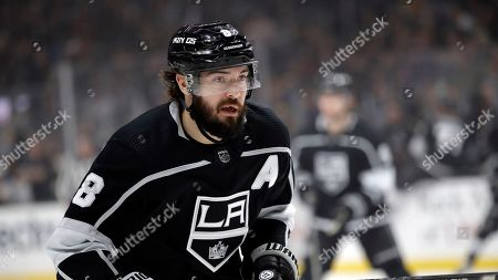 Los Angeles Kings' Drew Doughty (8) during an NHL hockey game against the St. Louis Blues, in Los Angeles