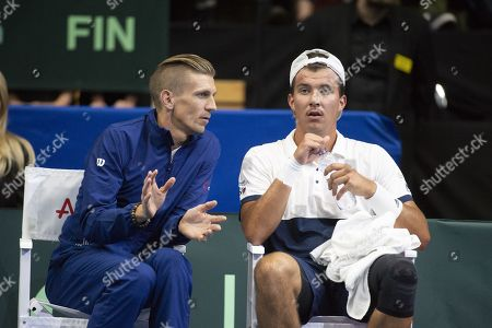 Editorial picture of Finland v Austria, Davis Cup, Tennis, Espoo, Finland - 13 Sep 2019