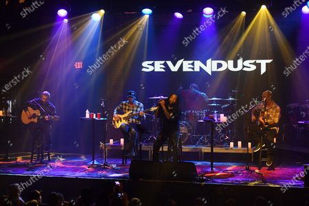 Editorial picture of Sevendust in concert at Revolution Live, Florida, USA - 30 Dec 2019