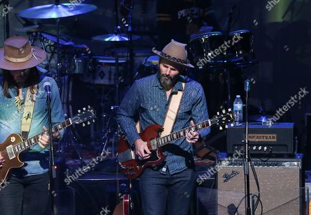 Berry Oakley Jr. with The Allman Betts Band performs at Buckhead Theatre, in Atlanta
