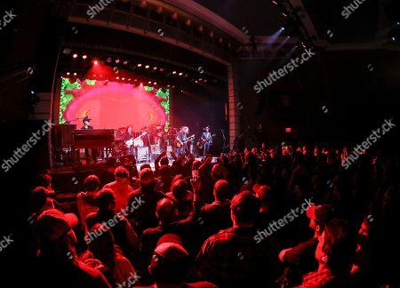 Devon Allman, Duane Betts, Berry Oakley Jr. Devon Allman, Duane Betts and Berry Oakley Jr. with The Allman Betts Band performs at Buckhead Theatre, in Atlanta