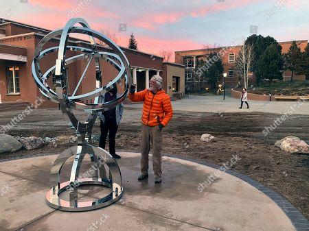 Editorial image of Stargazing Replica, Santa Fe, USA - 11 Dec 2019