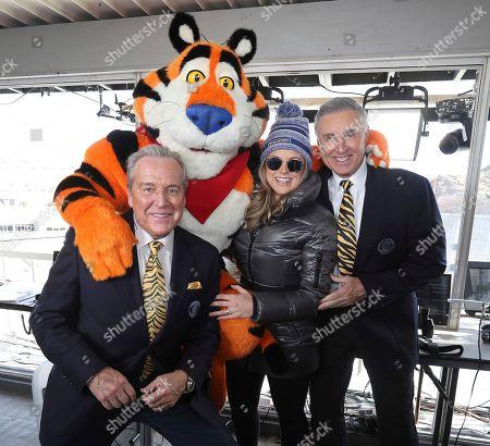 Editorial photo of Tony the Tiger at the Sun Bowl - 31 Dec 2019