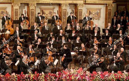 Editorial image of New Year's Concert, Vienna, Austria - 01 Jan 2020