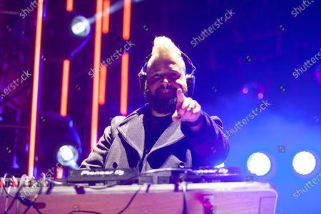 Stock Image of DJ Dave Aude