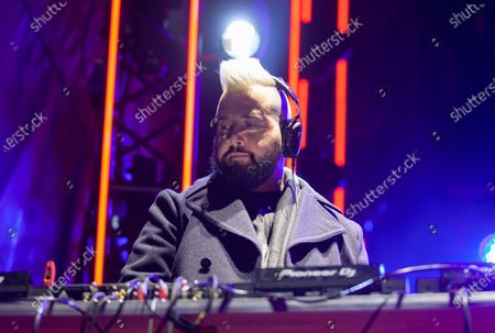 Stock Photo of DJ Dave Aude