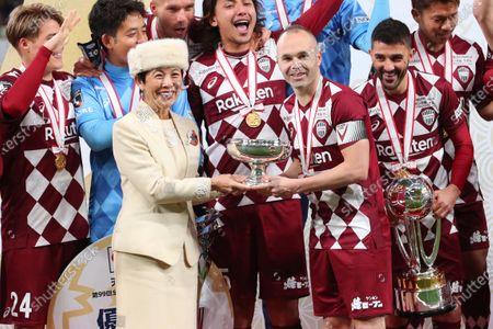 Editorial photo of Vissel Kobe v Kashima Antlers, 99th Emperor's Cup All Japan Football Championship Final, New National Stadium, Tokyo, Japan - 01 Jan 2020