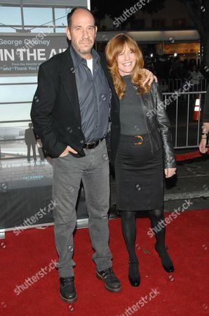 Miguel Ferrer and Lori Weintraub