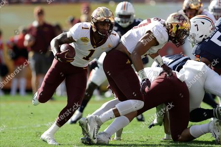 Minnesota running back Rodney Smith (1) during the first half of the Outback Bowl NCAA college football game against Auburn, in Tampa, Fla