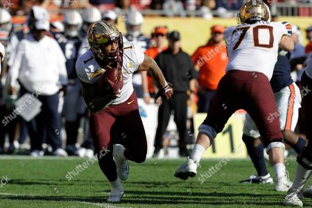 Minnesota running back Rodney Smith (1) during the second half of the Outback Bowl NCAA college football game against Auburn, in Tampa, Fla