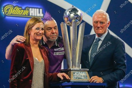 Editorial picture of PDC World Darts Championship Final - 01 Jan 2020