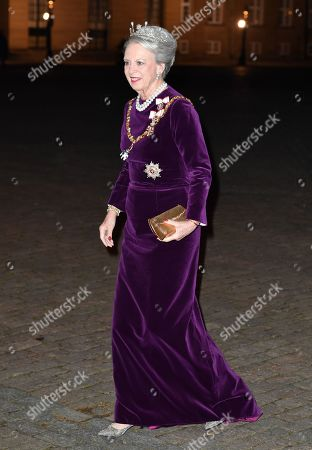 Editorial picture of New Year's reception, Amalienborg Palace, Copenhagen, Denmark - 01 Jan 2020