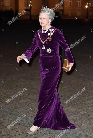Editorial image of New Year's reception, Amalienborg Palace, Copenhagen, Denmark - 01 Jan 2020