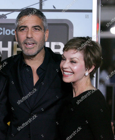 George Clooney and mother Nina